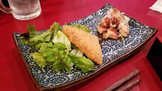 Walking Food Tour in Yurakucho, Shimbashi and Ginza: First food stop - Appertizer