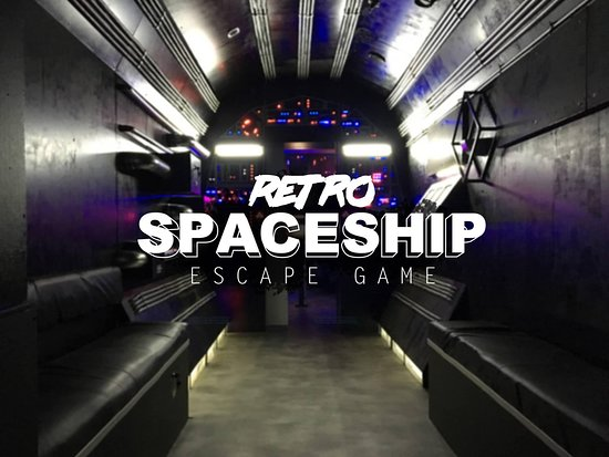 Retro Spaceship, escape game