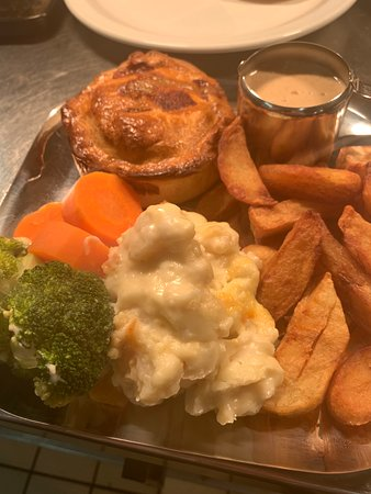 Shouldham, UK: Pies - we have 10 to choose from