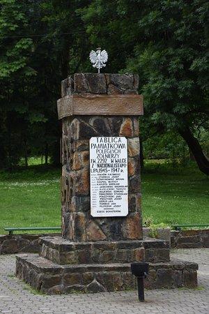 Pomnik zołnierzy poległych w walce z UPA