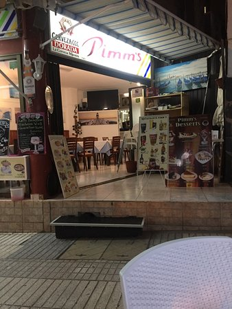 Pimm's Restaurant: Pimms,best food we have had in Los Cristianos