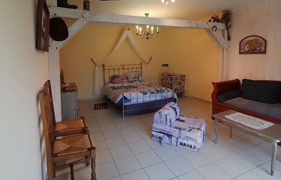 """Chavagnes-en-Paillers, Frankrike: la chambre """"Texas"""""""