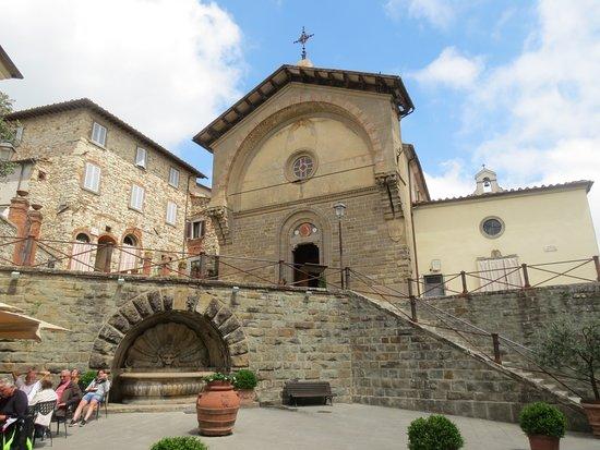Radda in Chianti - centro histórico - a praça