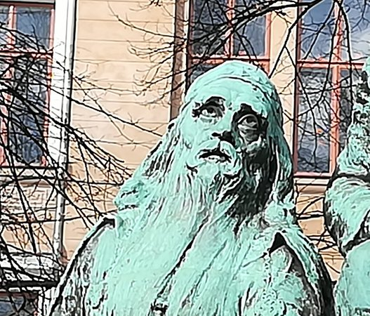 Elias Lonnrot Monument: Elias Lonnorot Monument - памятник Элиасу Лённроту, март.