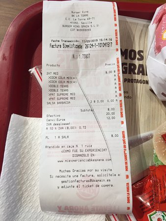 Burger King Picture Of Burger King Seville Tripadvisor