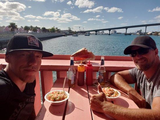 mckenzie s fresh fish and conch nassau caribbean restaurant rh tripadvisor com