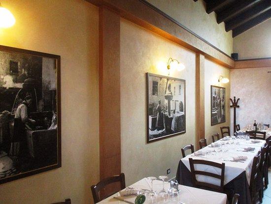 Chiomonte, Italie: particolare della sala