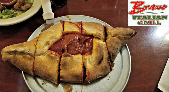 """Crewe, VA: 12"""" Stromboli with the fixings - The picture is deceiving it is HUGE!"""