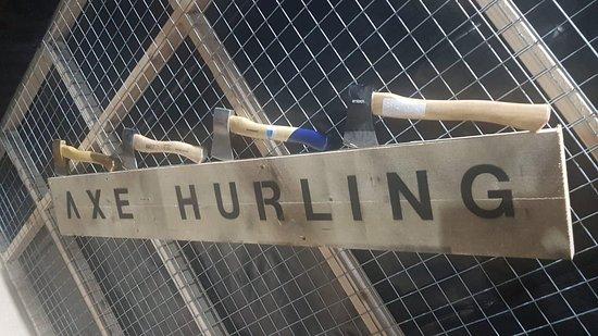 Axe Hurling