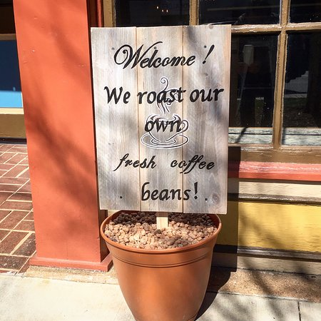 We do!  We roast our beans at our roastery on the other side of town.  Specialty grade Arabicas only.