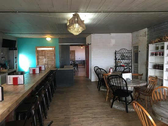 Canadian, TX: Gageby Store counter