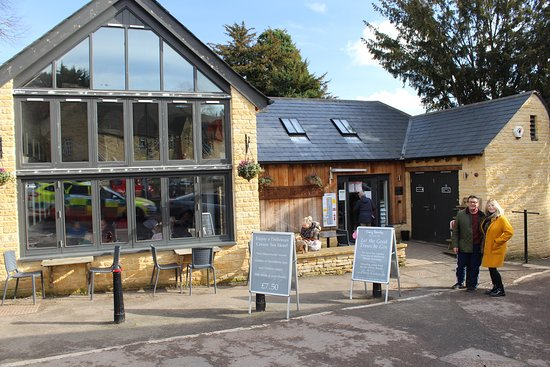 Blockley Cafe in February half-term
