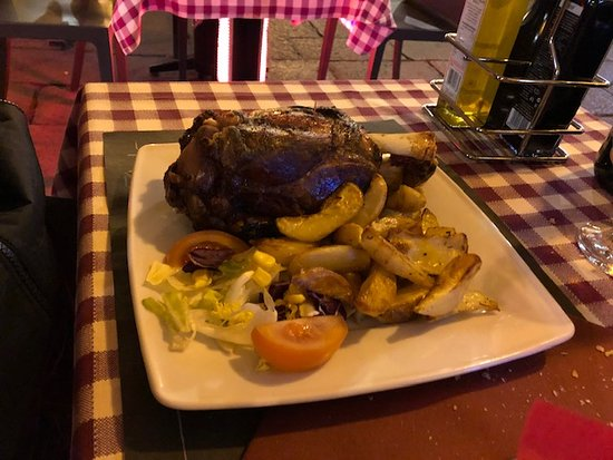 Pork Shank Dinner