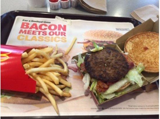 Fort Madison, IA: Big Mac with bacon