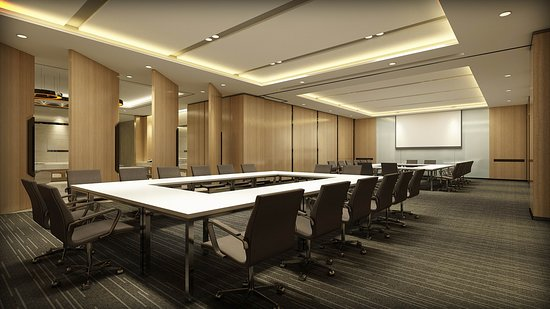 Bengbu, China: Meeting room
