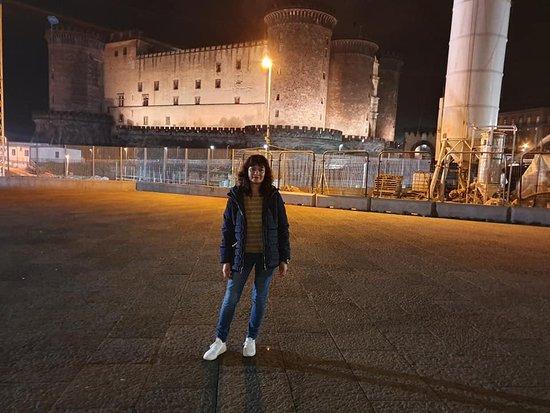 Province of Naples, Italie : Castillo en Nápoles