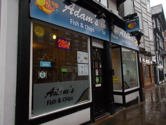 9d25c2b15 ADAM'S CHIPPY - FISH & CHIPS CAFE, Chester - Updated 2019 Restaurant ...