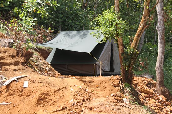 Ingiriya, ศรีลังกา: This fun camping site will put a smile on your face!!(:-)