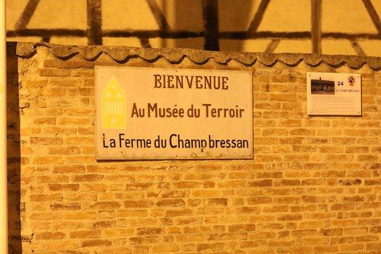 Romenay, Frankrijk: Musée : La ferme du Champ Bressan