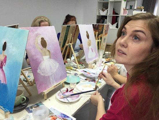 Surgutsky District, Rusland: В приятной компании почувствуй себя художником