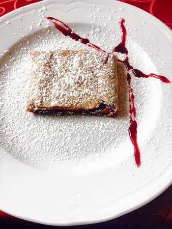 Icici, Croatia: Something sweet? We are well known for our homemade strudel. (cherry)