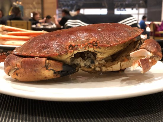 The Brown Crab is huge and very tasteful! - Picture of