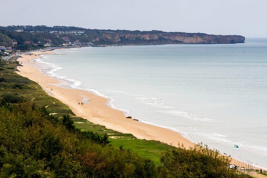 Sainte-Mere-Eglise, Fransa: Omaha Beach from Strongpoint 60