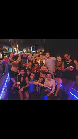Ultimate party bus