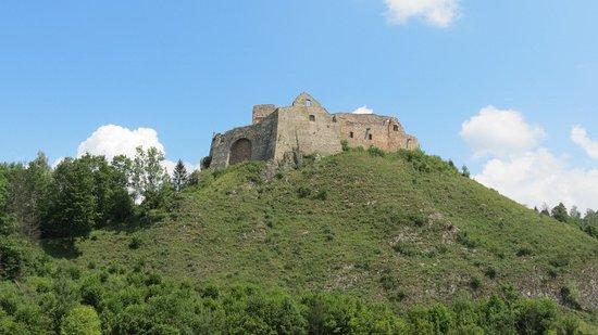 Czorsztyn Castle: Widok na zamek od strony jeziora.
