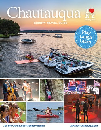 Request a FREE 2019 Chautauqua County Travel Guide by calling 866.908.ILNY(4569) or visiting TourChautauqua.com. This 96-page guide will help maximize your trip with info about attractions like the National Comedy Center, Chautauqua Institution, Peek'n Peak Resort and Lake Erie Wine Country plus our five amazing lakes including Lake Erie and Chautauqua Lake. Research lodging and dining, learn about upcoming events, and a pull-out map of the entire Chautauqua-Lake Erie Region.