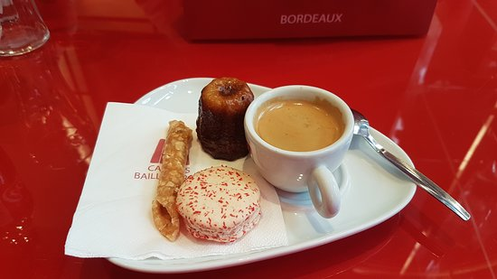 Canelés Baillardran : Café gourmand