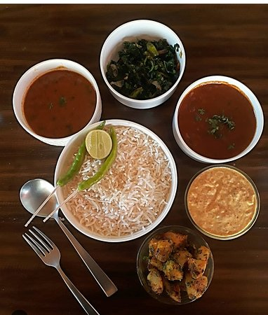 Some of our Kumaoni dishes!!