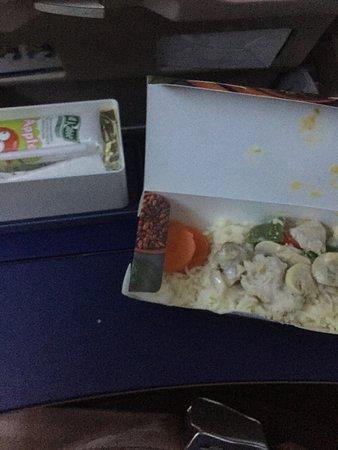 flydubai: The food was terrible.
