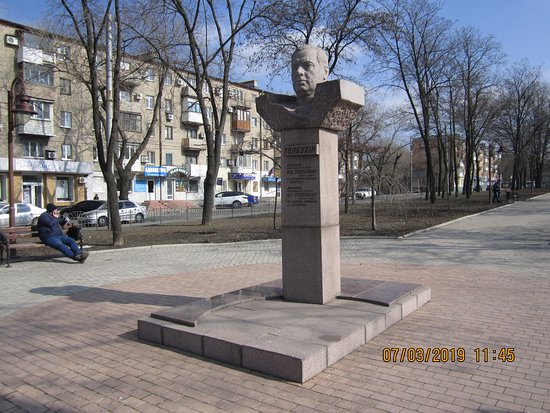 Monument to Marshal Tolbukhin