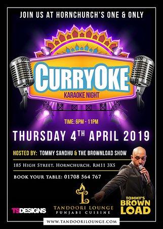 CurryOke (Karaoke) Night