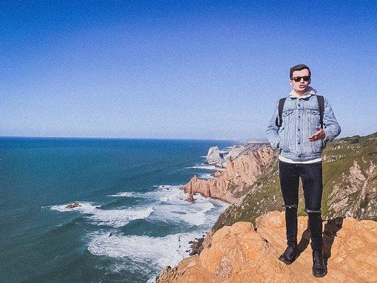 Sintra, Portugalia: Vista spettacolare!