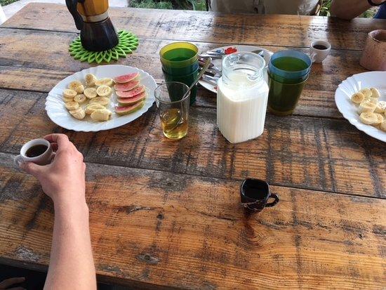 Caimito, Cuba: farm to table breakfast