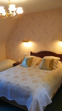 Chambre Les Fleurs 3 couchages (lit double et lit simple)