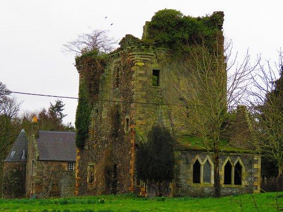 Cupar, UK: castle