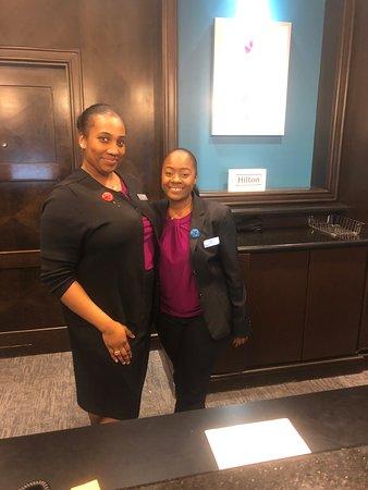 Hilton Garden Inn Atlanta Downtown: Great Staff!!!