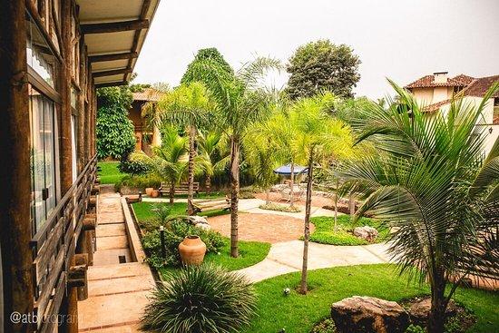 Jardim -Redário – Bild von Hotel Pousada Águas de Bonito, Bonito - Tripadvisor