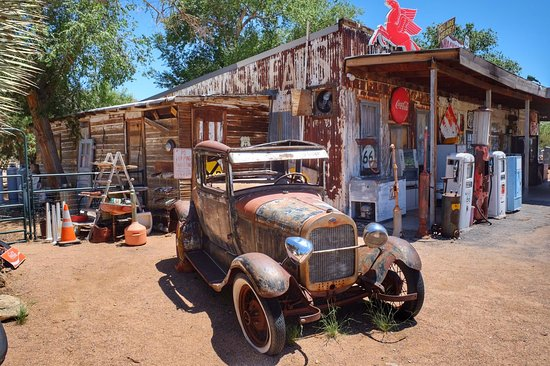 Hackberry, AZ: Absolutely Great Stop on Route 66!
