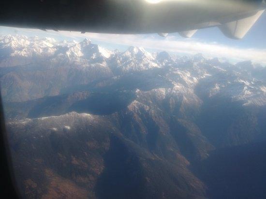 Lukla, Nepál: Himalayas : Yeti İrlines Everest Express