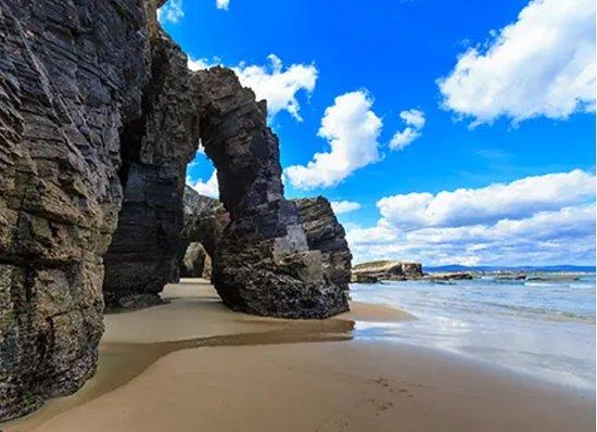Mondonedo, Spain: Playa de las catedrales
