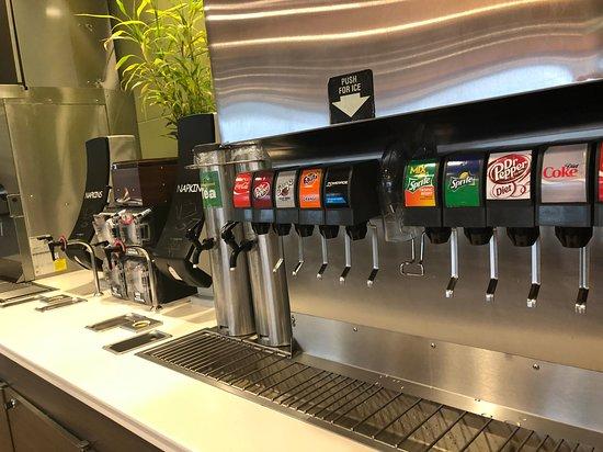 Atascocita, TX: Fountain drinks area