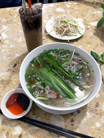 My very first pho straight from Vietnam