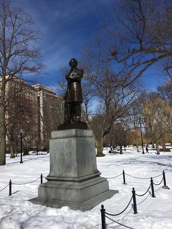 Statue Charles Sumner