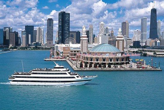 芝加哥精神日落晚餐巡游与自助餐