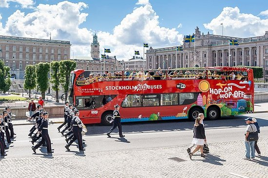 Hopp-på-hopp-av-tur med buss i...