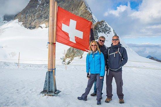 Jungfraujoch Top of Europe Day Photo...